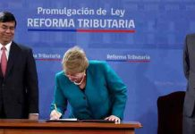 bachelet reforma tributaria