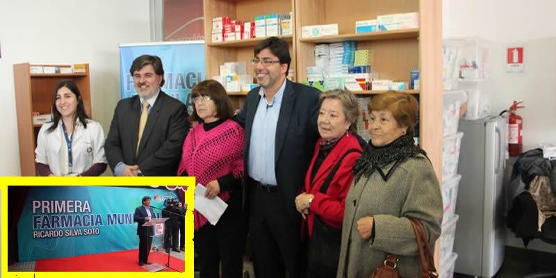 Recoleta Inauguró Primera Farmacia Municipal y Popular de