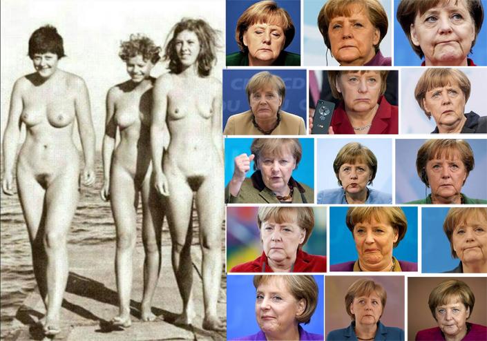 El Pasado Nudista De Angela Merkel Por Eso Quiere Empelotar A Medio
