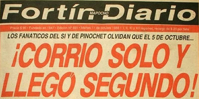Resultado de imagen para plebiscito 1988