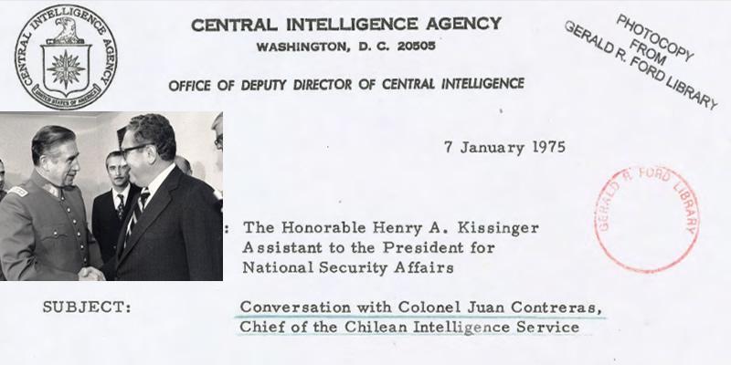 Resultado de imagen para la CIA kissinger