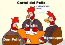 cartel pollo