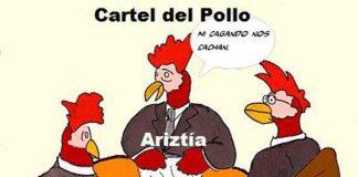 cartel pollo