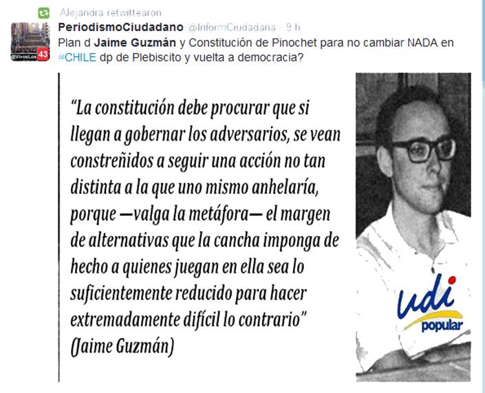 Las Frases De Jaime Guzmán Que Permiten Entender La