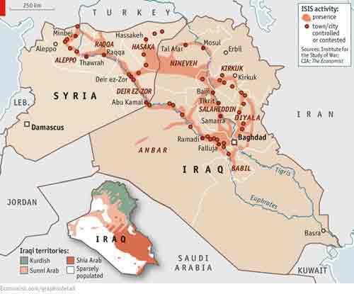 medioriente mapa