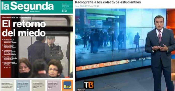 medios bombazo metro
