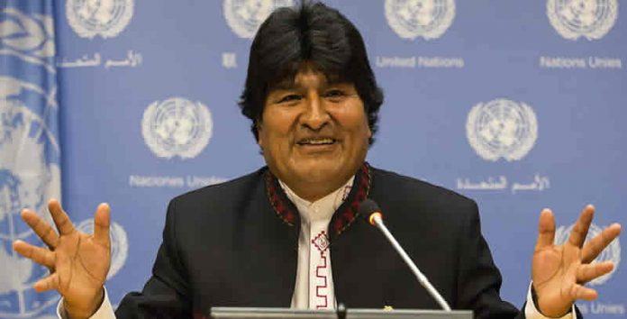 Evo Morales en Nueva York