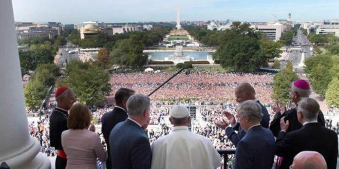 Papa en Congreso de Estados Unidos
