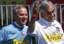 Gabriel Ruiz Tagle y Sebastián Piñera