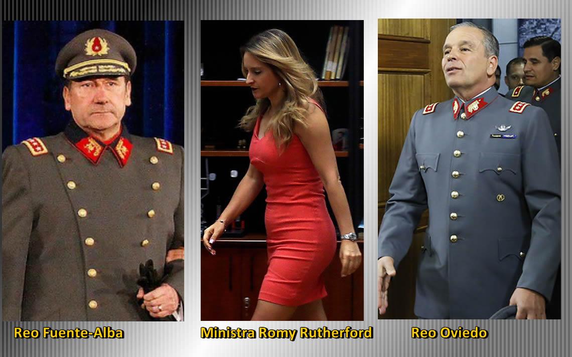 Venales Soldados: Ministra Rutherford Procesó a Dos Ex Comandantes en Jefe del Ejército – Red Digital