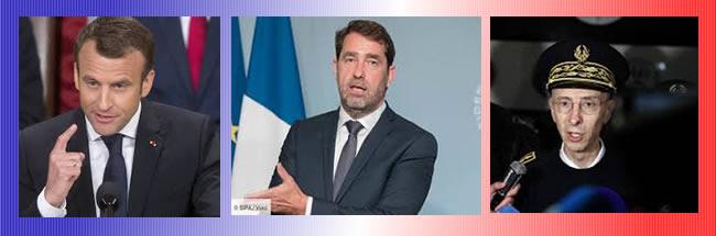 responsables de la violencia policial en Francia