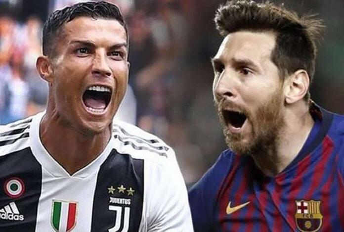 Cristiano Ronaldo y Leonel Messi