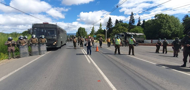 agresión a pueblo mapuche