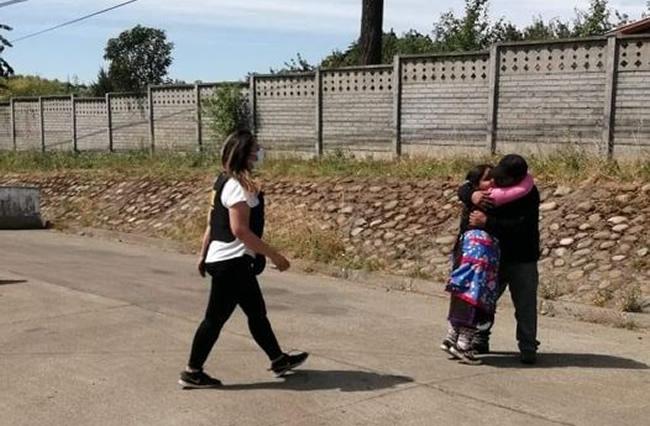 agresión pueblo mapuche, devolución hija Catrillanca
