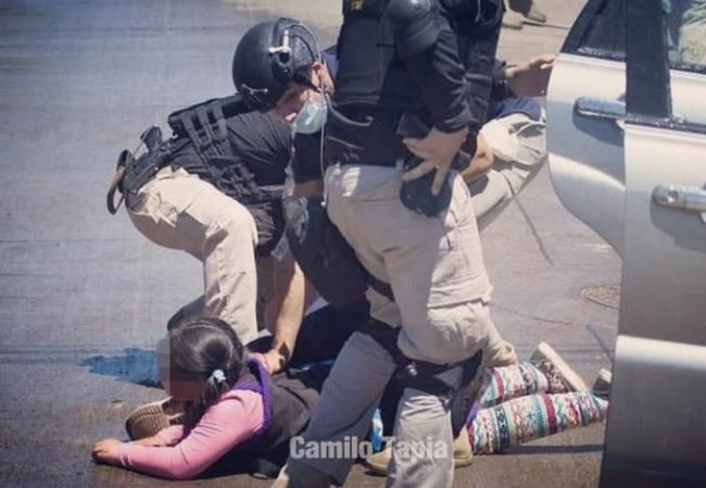 detención hija Catrillanca