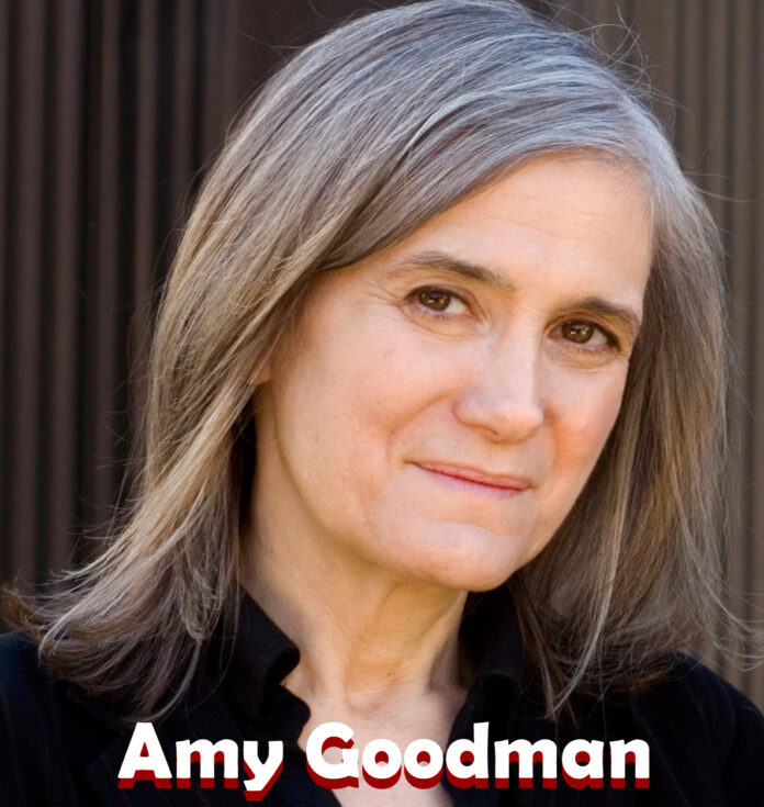 Amy Goodman: Trump debe ser destituido de inmediato
