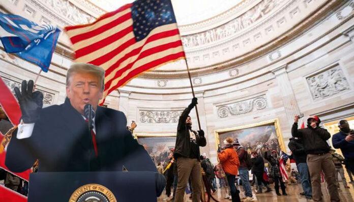 Insurrección en Washington, la última payasada de Trump