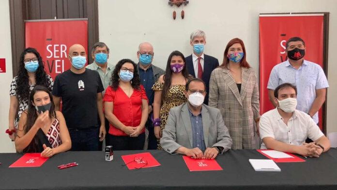 "Bloque Antineoliberal Inscribió Pacto ""Apruebo Dignidad"" para Convención Constitucional"