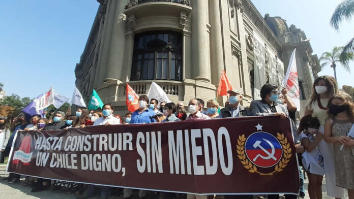 """Daniel Jadue, partido comunista de Chile: """"Que la Dignidad se Haga Costumbre y Constitución"""
