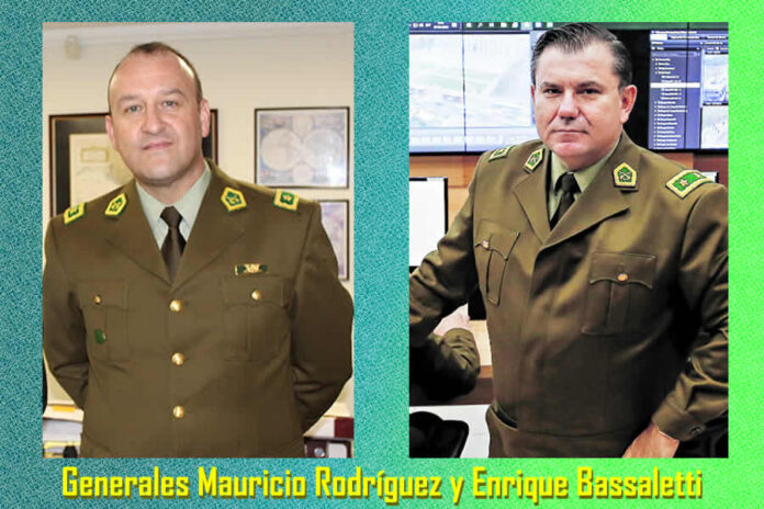 Contraloría Solicitó Suspensión de Dos Generales de Carabineros en Servicio