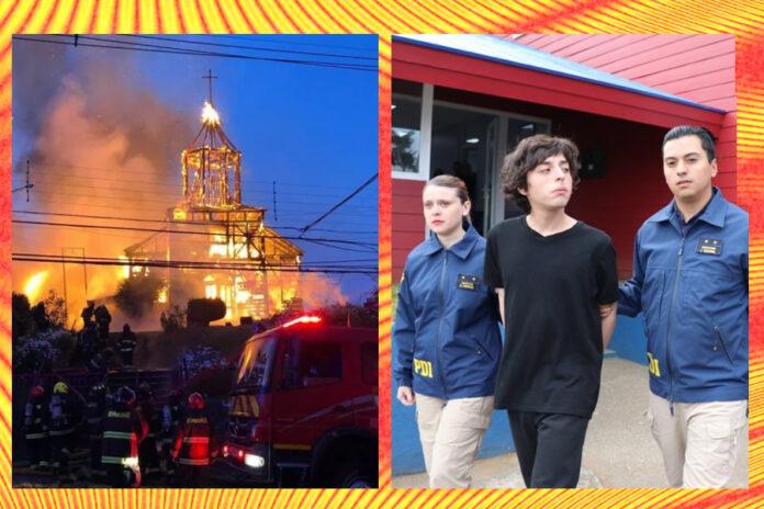 Pasó 13 Meses Preso, Acusado de Incendiar Iglesa en Ancud: Sobreseído por Ilegalidad de la Prueba
