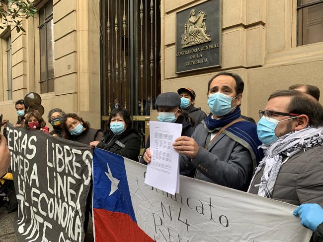 Diputados Van a Contraloría por Denegación de Bono a Feriantes
