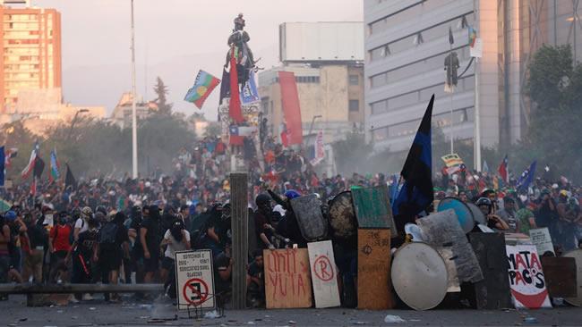Investigación Académica Acredita Montajes Policiales en la Revuelta