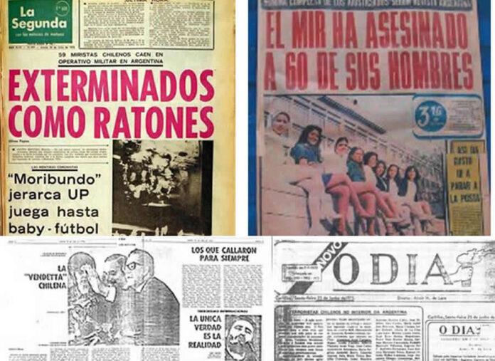 A 46 Años del Montaje Comunicacional de la Operación Colombo