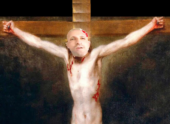La crucifixión del pianista y la corrupción de alto coturno